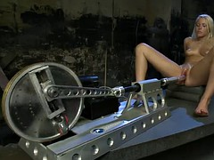 sexy bitch does not need a real cock to have fun