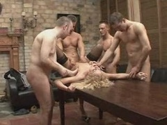 Gangbang CELEBRATION FOR A Nice Woman 6