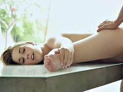 Rubia, Fetiche de pies, Estrella porno