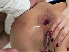 serbian hottie coco de mal takes earth shattering ass banging