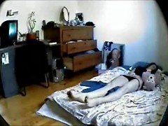 Hidden cam masturbation and orgasm 2, real time speed