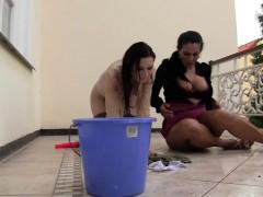 Lesbian whores peeing