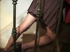 Maid Old Lady Pussy And besides Rectal Fuck