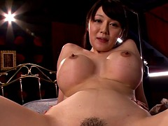 Japanese mom creampied after fingerfucked