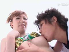 Four Japanese Volleyball Girls in Orgy -Uncensored JAV-