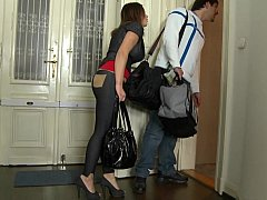 Nani and her boyfriend renting Mike's Apartment
