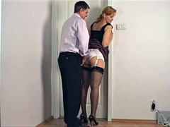Ondergoed, Secretaresse, Kousen