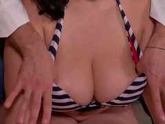 Massive Tits Covered With Sperm: Titty Fuck That Milf!