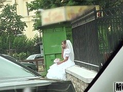 Rejected Bride Bangs Stranger video starring Amirah Adara