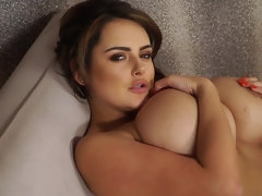 Sensual Curves- Voluptuous Buxom Babe Solo
