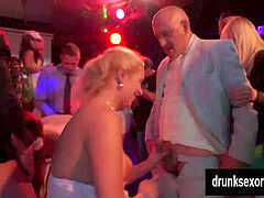 ambidextrous brides smashing at a hookup party