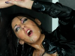 Gloryhole And Strap-On Cum Storm