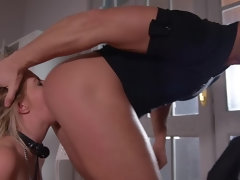 Humiliated Squirting Subby: Double Pee Makes Her Cum