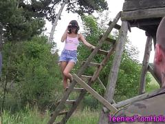 european teenager jizzed teen