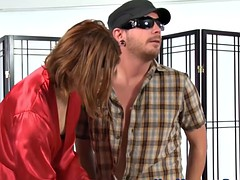 Footworship Masseuse Pussylicked By Redhead