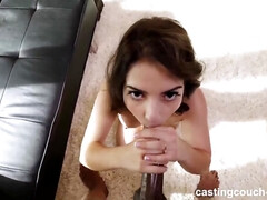 Sexy latina babe on Casting Couch Lacey in HQ