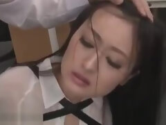 Japanese secretary hardcore roleplay sex