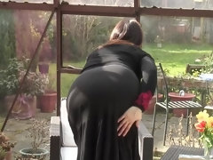 British naughty housewife with big natural tits