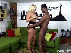 Cougar's World Wide BBC Hunt: Budapest Dick Down - alexis golden