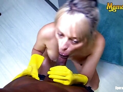 Big Ass Latina Maid Karla Rivera Bangs Hardcore During Her Work Schedule - interracial